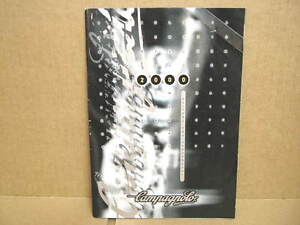 "2000 Campagnolo ""Campy"" Catalog (6"" x 8"" and 49 Pages)...Italian Translation"