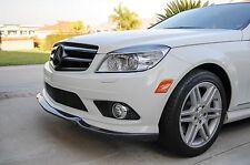 Mercedes Benz W204 C Class C300 C350 Sport Carbon Fiber Front Spoiler Lip