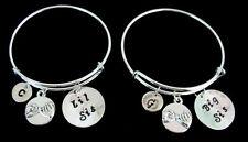 Bangle Bracelets For Sisters,Big little sister bracelet sister's bangle jewelry