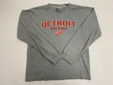 NHL Detroit Red Wings Long Sleeve Thermal Men's Size Medium EUC