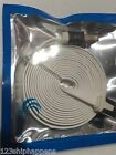FLAT NOODLE USB Data Sync Charger Cable FOR apple iphone 4 4s 3 3gs iPod 1 2