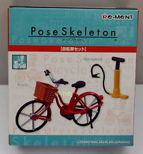Pose Skeleton Part II Bicycle &  Accessory, 1pc - Re-ment , h#2OK