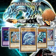 Kaiba'S Deck 44 Cards | Blue-Eyes White Dragon Kaibaman Stone of Ancients YuGiOh