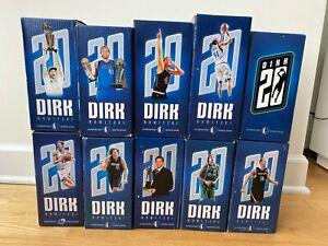Dirk Nowitzki Dallas Mavericks 20 Seasons Commemorative Bobblehead Complete Set