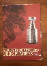 MONTREAL CANADIENS 2006 PLAYOFF SEASON TICKETS BOOKLET & TICKET STUBS
