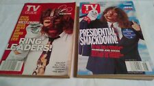 TV Guide/Wrestling/Man Kind/March 1999 & Feb. 2000/Used.