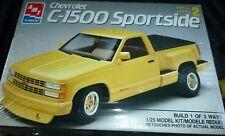 AMT 1991 CHEVY SPORTSIDE C-1500 PICKUP TRUCK Model Car Mountain Kit 1/25 FS