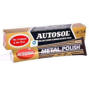 Autosol Original Solvol Chrome Metal Aluminium Cleaner Polish Car Motorcycle