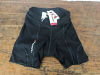 Louis Garneau Fit Sensor 5.5 Shorts 2 Women's XL Black New with tags.