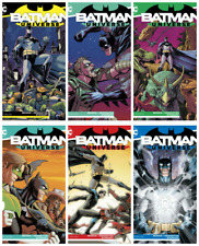 BATMAN UNIVERSE #1 2 3 4 5 6 - DC - COMPLETE SET #1-6 BAGGED AND BOARDED