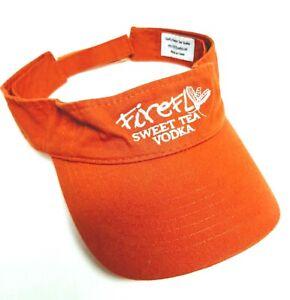 Firefly Sweet Tea Vodka Visor Hat Cap Adjustable Sailing Golf Liquor Advertising