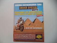 advertising Pubblicità 1989 TORO ASSICURAZIONI e MOTO YAMAHA CHESTERFIELD SCOUT