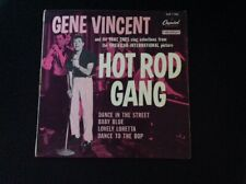GENE VINCENT. HOT ROAD GANG 45Rpm Extended Play Italy 1958