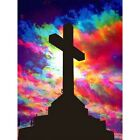 Diamond Painting DIY Full Drill 5D Fetching Cross Embroidery Art Craft Practice
