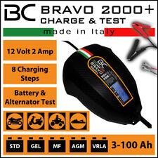 Controlador De Batería BC Bravo 2000+ 12 V 2amp Cargador Y Probador Reino Unido Stock Y Garantía