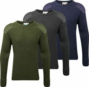 Fort crew-neck acrylic NATO-style army combat security cadet jumper #120
