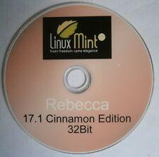 Linux Mint Rebecca 17.1 Operating System Alternative To Windows PC/Laptop 32Bit