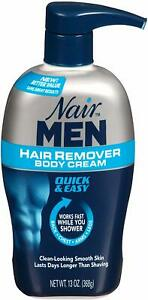 Nair Men Hair Removal body cream13 Oz best for mens || Free Shipping