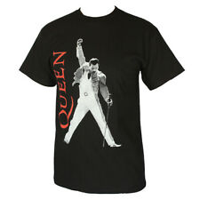 QUEEN FREDDIE MERCURY  MEN'S T-SHIRT BLACK