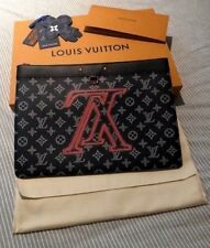 Louis Vuitton 2018 Pre-Fall Collection Pochette Apollo with Upside Down Logo