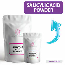 PURE Salicylic Acid Powder 99.9% used for COSMETICS, ACNE, SOAPS & MORE