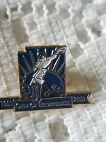 Scottsdale Arizona Rodeo Pin 50th Anniversary Cowboy Western Enamel