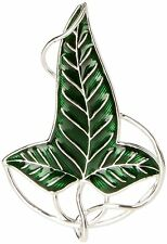 Licensed Lord of the Rings Lorien Elven Leaf Brooch Noble Collection
