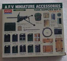 Academy 1383   A.F.V. Miniature Accessories Tank Supplies Set II 1:35