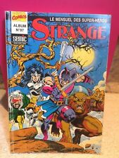 SUPERBE COMICS MARVEL STRANGE ALBUM N97 FR