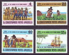 St Kitts-Nevis 1973 SC 259-262 MNH Set Royal Visit