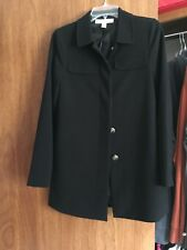 Forever 21 Black coat Size Ladies small Condition good