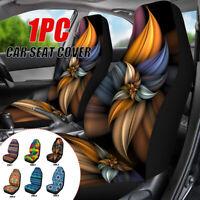 Car Front Seat Cover Protector Cushion Print Pattern Sedan SUV Truck