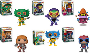 Funko POP! TELEVISON: MASTERS OF THE UNIVERSE POPS IN STOCK READY TO SHIP