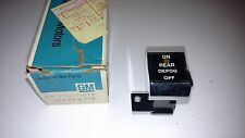 GM 1978 - 1980 Pontiac Electric Rear Window Defogger Switch NOS Part # 10001036
