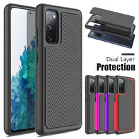 For Samsung Galaxy S20 FE 5G Shockproof Rugged Rubber TPU Armor Slim Case Cover