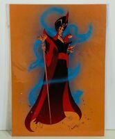 Disney WonderGround Gallery Jafar on Sand Postcard J. Scott Campbell New
