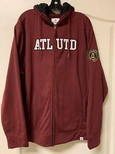 NEW W TAGS - Men's Atlanta United FC Zip Up Hoodie Fanatics Jacket -2XL-MSRP $70