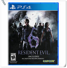 PS4 Resident Evil 6 SONY PlayStation Capcom Action Adventure Games
