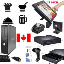 Touchscreen POS all-in-one Point of Sale System Combo Kit Retail Store CANADA