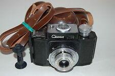 GOMZ Lomo Smena 1 Soviet compact camera with Case,  Nice Condition. No. 418345