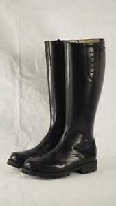 Motorcycle Police Patrol Boots Size 6-6.5