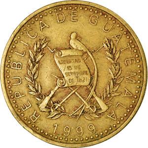 [#761773] Coin, Guatemala, Quetzal, 1999, EF, Nickel-brass, KM:284