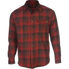 MATIX Turks Flannel Shirt (L) Burnt Orange