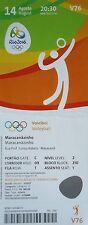 TICKET 14.8.2016 Olympia Rio Volleyball Women's # V76