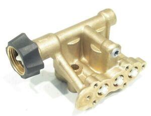 Pressure Washer Pump BRASS HEAD fits 3000 PSI fit Excell Troy-Bilt Husky Generac