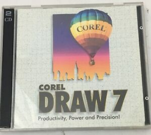 COREL DRAW 7  PC / Windows Desktop Publishing /  Image Editing / Illustration