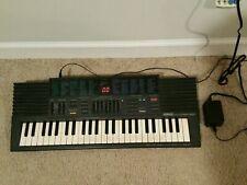 Yamaha PortaSound PSS-380 FM PCM Digital Synthesizer Keyboard w/ OEM PSU Working