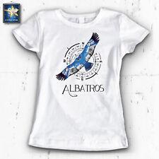 T-shirt MAGLIETTA DONNA ALBATROS EK SANEM IDEA REGALO