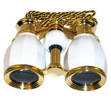 HQRP Brass Opera Theatre Binocular 3X25 Lady Glasses w/Case Optics Lens Coated