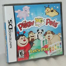 SEALED NEW Nintendo DS DSi Pillow Pets Let's Play Video Game Welcome Dreamland!